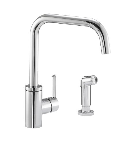 Danze trace single handle kitchen faucet for Danze inc