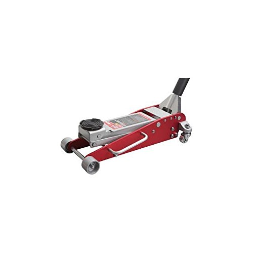 Torin Big Red Aluminum/Steel Racing Floor Jack: Dual Piston Pump, 2.5 Ton Capacity