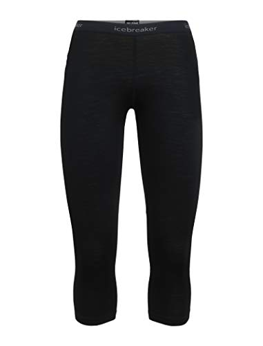 Zelanda Mujer Lana Cuello Redondo Black 104330 Corta De Zone Camiseta mineral Xs Manga Con Icebreaker Merino qFwvPP