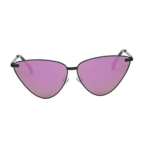 Protection Femme UV 4 Baoblaze Cadeau Mode color Mirroir de Lunettes Soleil Homme Lentille HIww6azq