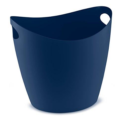 Bleu Washtub koziol velours thermoplastique en profonde qx8XYv
