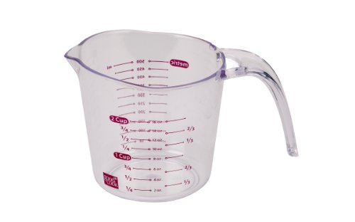 - Good Cook Clear Measuring Cup with Measurements, 2-Cup