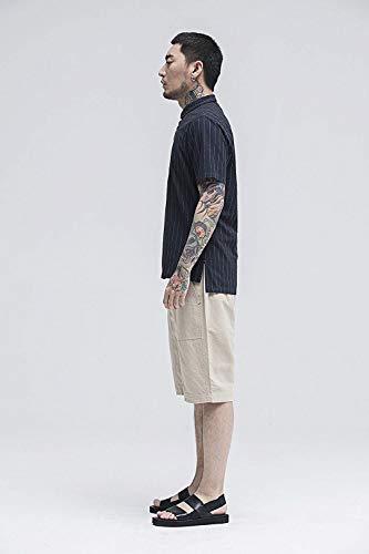Vintage Con Cotone Jogging Sportivi Uomo Autunno Unita Khaki Da Primavera Coulisse Casual Tinta In Borse Pantaloni SwqzxF1n