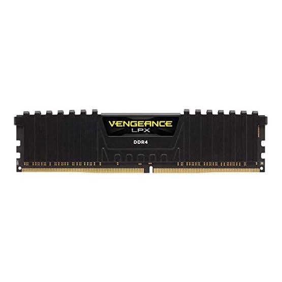 Corsair Vengeance LPX 16GB (2x8GB) DDR4 DRAM 3200MHz C16 Desktop Memory Kit - Black (CMK16GX4M2B3200C16) 31m39tpN7mL. SS555