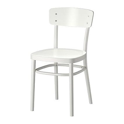 Swell Amazon Com Ikea White Dining Chair 1026 82626 610 Chairs Spiritservingveterans Wood Chair Design Ideas Spiritservingveteransorg