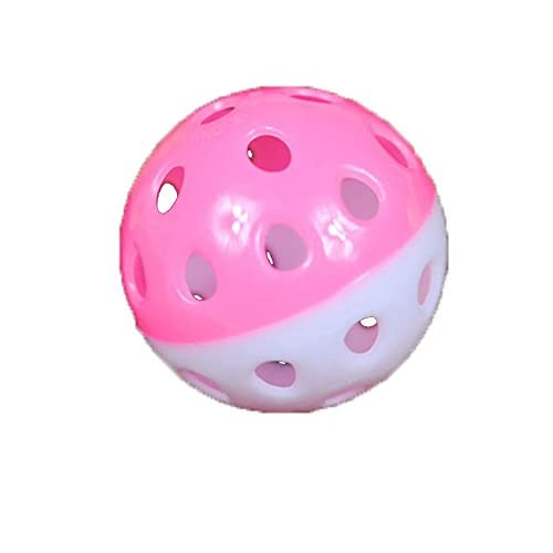 hot sale 5-Pack Hollow Plastic Ball with Bell Inside Cat Teaser Squeaker Toy Cat's Favorite Toys Random Colors
