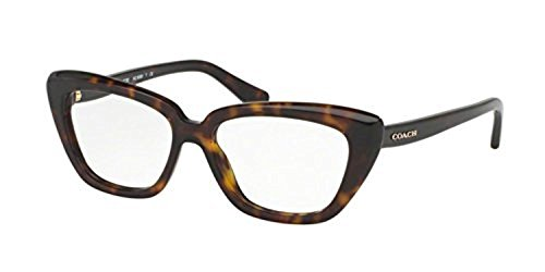 Coach Women's HC6090 Eyeglasses Dark Tortoise - Coach Eyeglasses Mens
