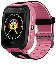 Scicalife Smartwatch infantil para chamadas telefônicas com tela sensível ao toque, câmera de celular, relógio