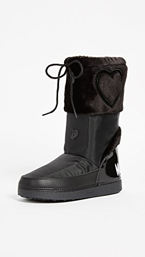 EU Black Love M Ankle Boots MOSCHINO 41 Women's xSg0P0