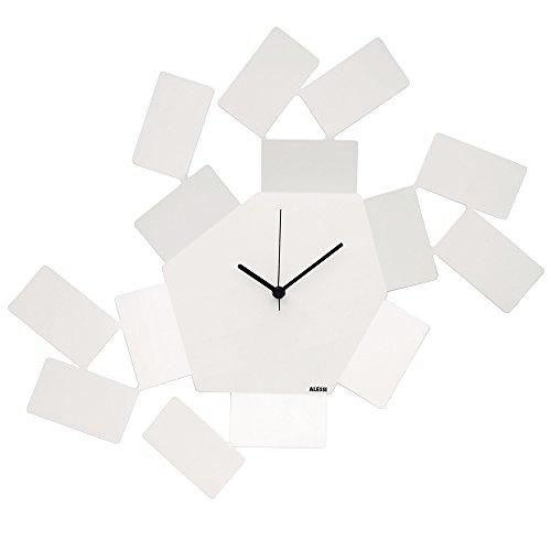 Alessi Stanza Scirocco Wall Clock Aleesi MT19 W, White