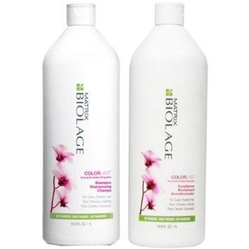 ColorLast de Biolage Shampoo y acondicionador de litro Duo 33.8 oz (1 litro)