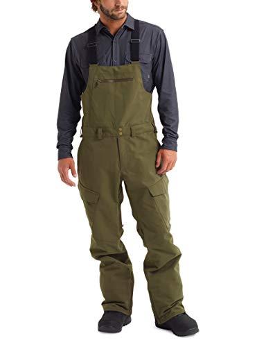 Burton Men's Reserve Bib Pant, Keef W20, Small