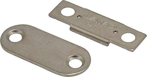 1-25/64'' Long x 12'' Wide x 2.2'' High, Neodymium & Steel Ultra Thin Magnetic Catch pack of 10