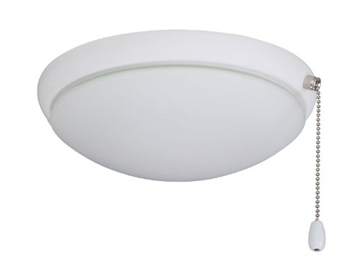 Emerson Ceiling Fans LK65SW Moon Light Fixture for Ceiling Fans, Candelabra