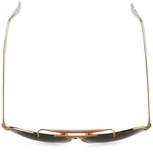 mm 58 Ban Sol Aviator Gafas Ray 3025 RB Unisex de Dorado Gold ZOPH7w