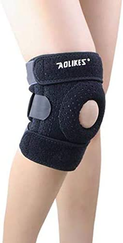 1X膝パッド膝ブレース関節炎ACLと半月板裂傷のための自然治癒ウォーキングサイクリングバスケットボールを実行するための最高の膝パッドのサポート 自然治癒 回復を助ける