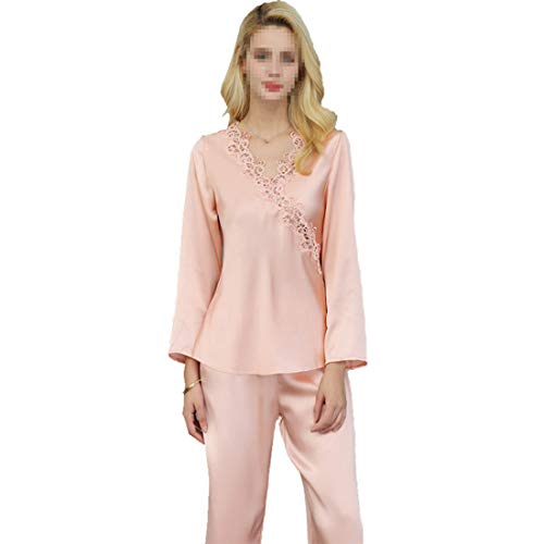 L Pijamas Set Shiduoli Suaves De L Para xxl Mujer 02 Dormir Pj Ropa Size color Larga 01 Manga avUUrWxdq