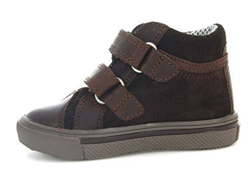 Toddler//Little Kid Bartek Baby Boys Leather Shoes Ankle Boots 11812//MOC Brown