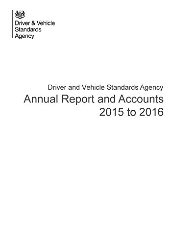 Driver and Vehicle Standards Agency annual report and accounts 2015-16 (House of Commons Papers)