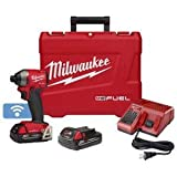 "Milwaukee (MLW285722CT) M18 FUEl 1/4"" Hex Impact Driver One Key CP Kit"