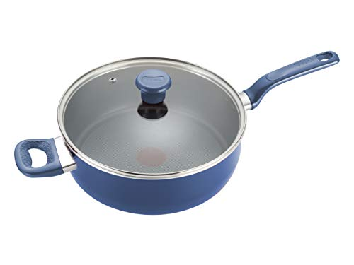 t fal cookware set blue - 6