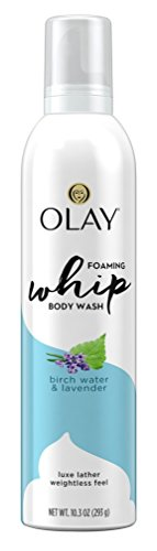 Olay Body Wash Whip Birch Water & Lavender 10.3 Ounce Foam (2 Pack)