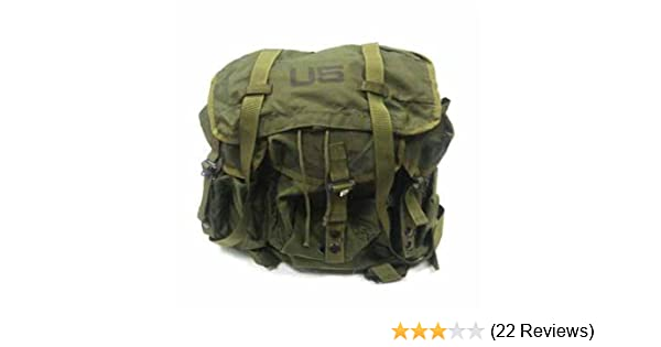 Amazon.com  USGI Military Surplus Army ALICE Combat Field Pack Backpack   Sports   Outdoors 1e5ace71ae