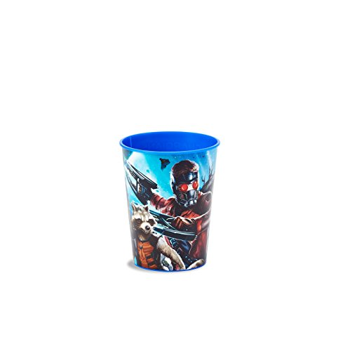 American Greetings Guardians of the Galaxy 16-Ounce Plastic Party Cup, Party Supplies (Guardians Of The Galaxy Decorations)