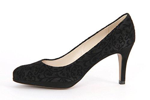 643 79401 Vestir Peter de Zapatos Mujer Schwarz Kaiser para Schwarz qwUCCF