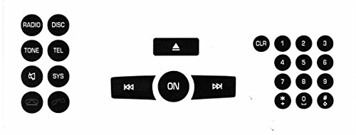 Mercedes Benz Radio Button Repair Kit For Most - Mercedes Benz Radio Tool