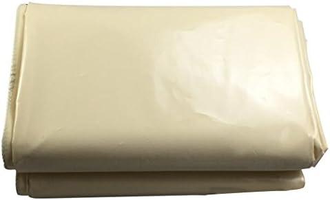 PENGFEI オーニング 防水 防塵の 霜の保護 園芸 シェード 貨物トラック倉庫 耐高温性 耐腐食性、 グレー、 7サイズのオプション ( 色 : クリーミーホワイト , サイズ さいず : 4x5M )