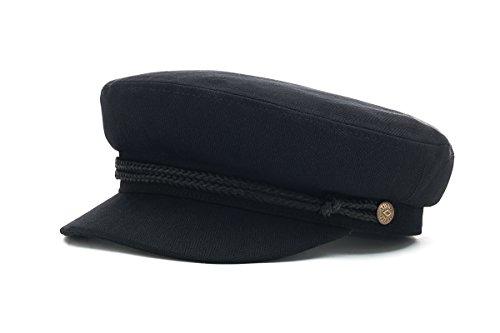 herringbone black twill black Gorra Fiddler herringbone twill unisex Brixton AwPIxqI