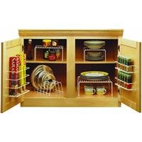 Grayline 457101, 6 Piece Cabinet Organizer Set,