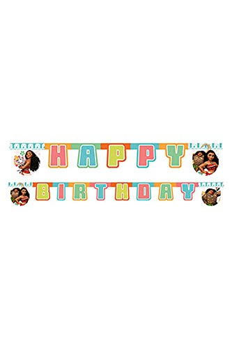 Qualatex 54468 Disney Moana Jointed Letter Banner