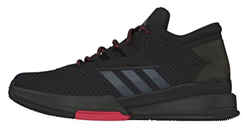 adidas street jam ii basket formatori uomini, 42, nero: amazon
