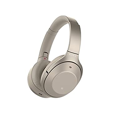 Sony WH1000XM2 Premium Noise Cancelling Wireless Headphones, Gold (WH1000XM2/N)