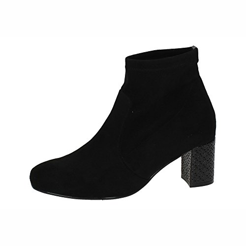 MADE IN SPAIN ,  Damen Kurzschaft Stiefel Schwarz