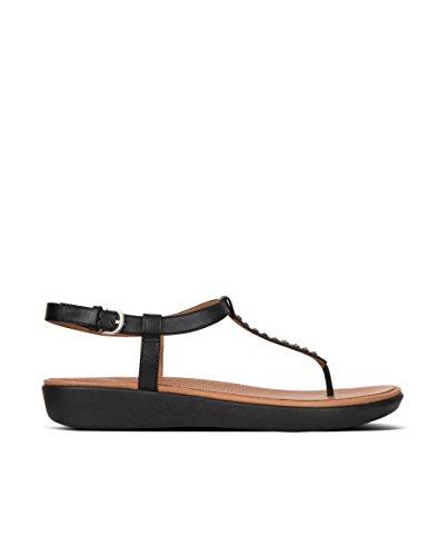 EU EN 36 Negro Fitflop de Thong Sandals Tia Toe Mujer Talla Color Cryst Sandalias qHCBO