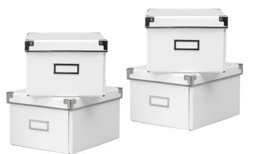 aufbewahrungsbox mit deckel weiss. Black Bedroom Furniture Sets. Home Design Ideas