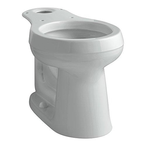 (Kohler K-4347-95 Cimarron Comfort Height Round Front Toilet Bowl, Ice Gray)