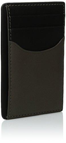 Men's Leather Holder Skagen Heather Skagen Card Vertical Men's Grey E4ztqwH