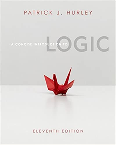 A concise introduction to logic (book only) 11th (eleventh.