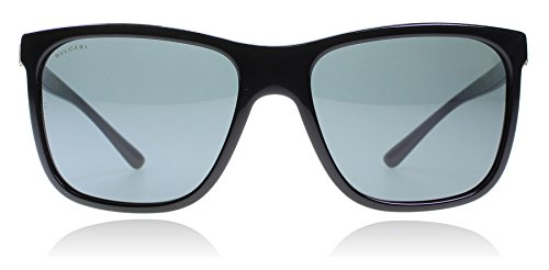 Bvlgari BV7027 501-87 Black BV7027 Wayfarer Sunglasses Lens Category 3 Size - Bvlgari Men For Sunglasses