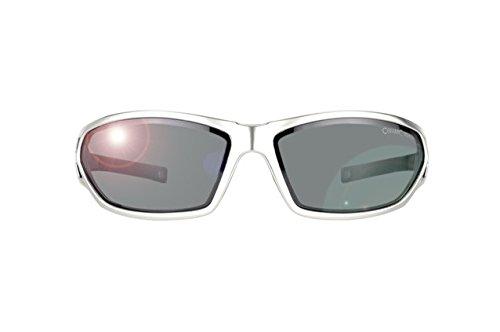Alpina Sportbrille AMIX verschiedene Farben zur Auswahl Farbe:zinn;Scheibe:Spiegel schwarz