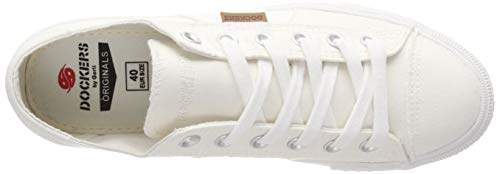 weiss Bianco Basse 790500 Ginnastica Dockers Gerli Donna Scarpe Da 40th201 By CRqwy1S