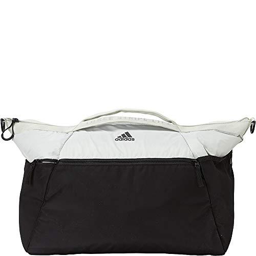 adidas Studio III Duffel Bag, Ash Silver/Black/Trace Maroon Pink, One Size ()