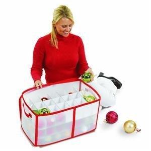 Santa'S Choice Ornament Storage Bag Dyno Imports