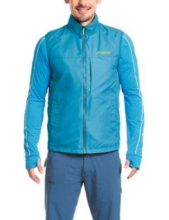 Maier Sports He-Fleecejacke+Weste - Tour Wind R Methyl Blau