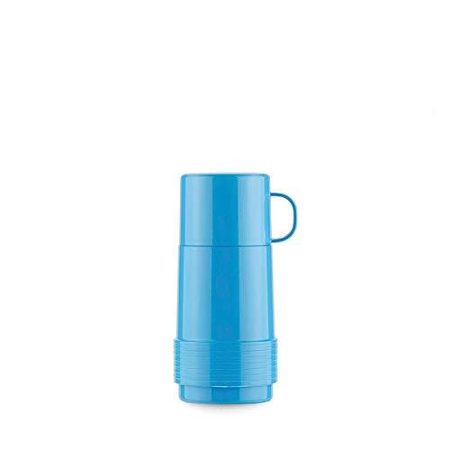 Valira Botella De Vidrio Aislante De Doble Pared con Vacio, Polipropileno, Azul, 0 25 L