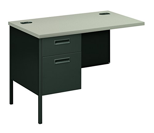 HON HP3236L.G2.S Metro Classic Charcoal Finish Left Return with 1 Box/1 File Drawer, 42